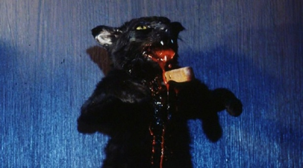 twice-dead-1988-movie-review-dead-cat-pinned-to-door