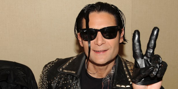 PARSIPPANY, NJ - OCTOBER 26: Corey Feldman attends the Chiller Theatre Expo at Sheraton Parsippany Hotel on October 26, 2013 in Parsippany, New Jersey. (Photo by Bobby Bank/WireImage)