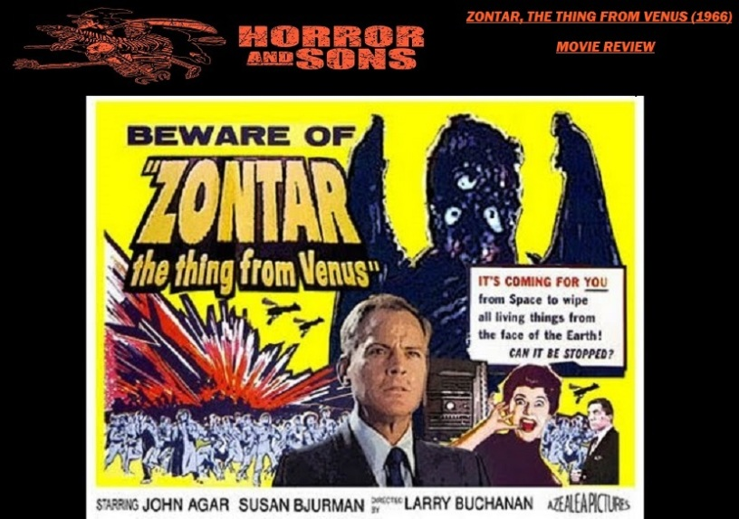 Zontar The Thing From Venus 1966 Movie Review Horror